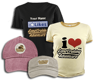 Landcruising Shirts, Caps, & Stickers (©photocoen)